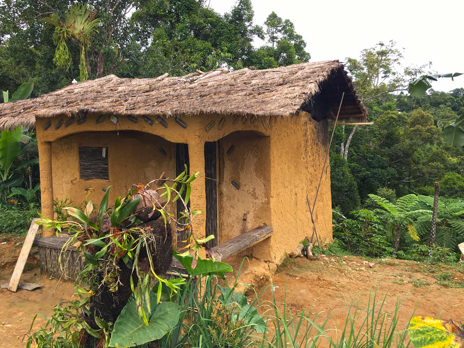 Mudhouses of Indigenous People